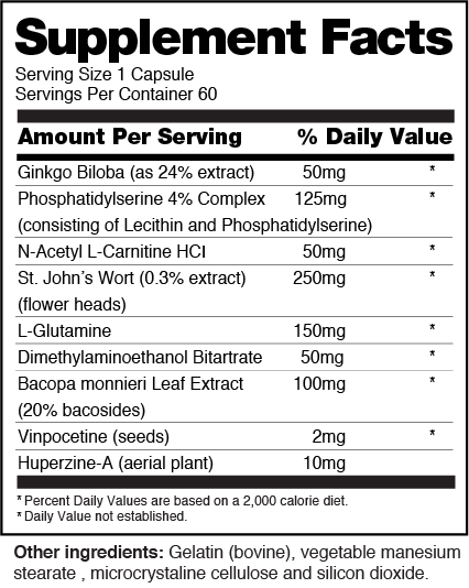 Brain nutrition facts